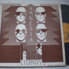Discos de vinilo: AMNESIA, FROM HERE TO ETERNITY, LP BOY RECORDS 1990, NUEVO. Lote 33122745