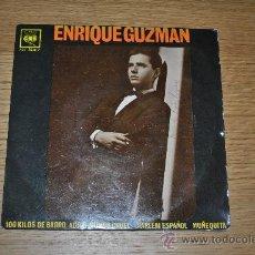 Discos de vinilo: ENRIQUE GUZMAN (CON LOS SALVAJES).100 KILOS DE BARRO+3.(CBS 1962).SPAIN.. Lote 287821168