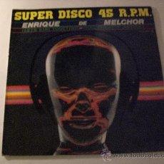 Discos de vinilo: ENRIQUE DE MELCHOR-OKORO, QUEDEMONOS JUNTOS, MAXI ZAFIRO ESPAÑA 1983, SEMINUEVO. Lote 33135053