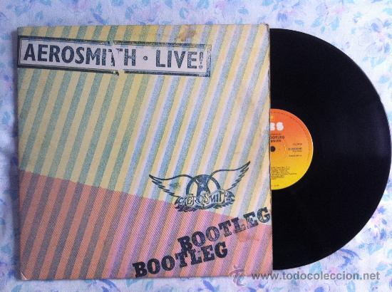 LP DOBLE-AEROSMITH-LIVE (Música - Discos - Singles Vinilo - Pop - Rock - Extranjero de los 70)