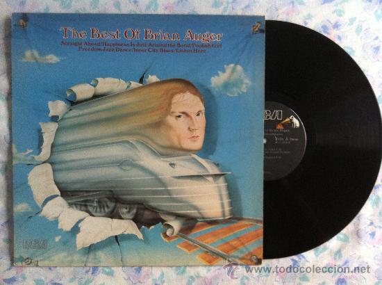 LP-BRIAN AUGER-THE BEST OF (Música - Discos - Singles Vinilo - Pop - Rock - Extranjero de los 70)