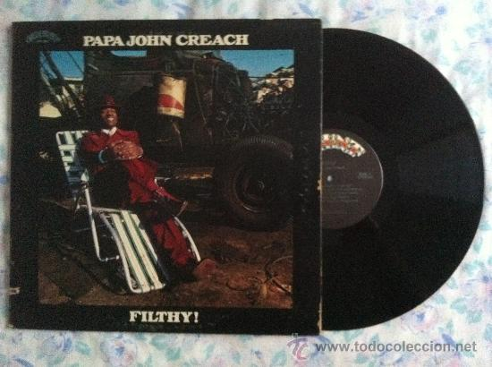 LP-PAPA JOHN CREACH-FILTHY (Música - Discos - Singles Vinilo - Pop - Rock - Extranjero de los 70)