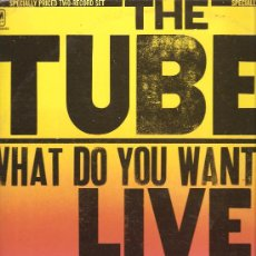 Discos de vinilo: DOBLE LP THE TUBES : WHAT DO YOU WANT FROM LIVE . Lote 33140039