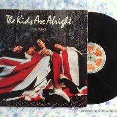Discos de vinilo: LP DOBLE-THE KIDS-THE KIDS ARE ALRIGHT. Lote 33140242