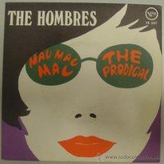 Discos de vinilo: THE HOMBRES RARO SINGLE 'MAC MAC MAC' 1968 MINT. Lote 33256809