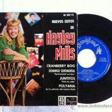 """Discos de vinilo: 7"""" EP-HAYLEY MILLS-CRANBERRY BOG-JUNTITOS-POLYANA... Lote 33172930"""