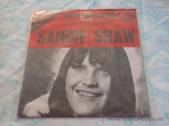 SANDIE SHAW 'EUROVISION 1967' ( PUPPET ON A STRING - TELL THE BOYS ) SWEDEN-1967 SINGLE45 PYE (Música - Discos - Singles Vinilo - Festival de Eurovisión)