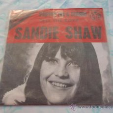 Discos de vinilo: SANDIE SHAW 'EUROVISION 1967' ( PUPPET ON A STRING - TELL THE BOYS ) SWEDEN-1967 SINGLE45 PYE. Lote 33177521