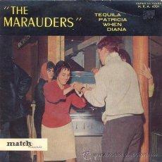 Discos de vinilo: THE MARAUDERS - TEQUILA - EP FRANCES DE VINILO RARO - SURF. Lote 33179109