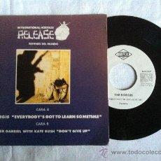 "Discos de vinilo: 7"" INTERNACIONAL HOSTAGE RELEASE-THE KORGIS-PETER GABRIEL. Lote 33182848"