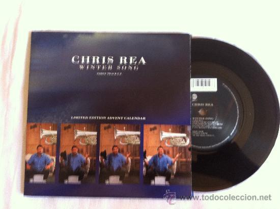 """7"""" CHRIS REA-WINTER SONG-THREE TRACK EP (Música - Discos - Singles Vinilo - Pop - Rock Internacional de los 90 a la actualidad)"""