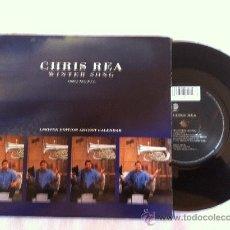 "Discos de vinilo: 7"" CHRIS REA-WINTER SONG-THREE TRACK EP. Lote 33183282"