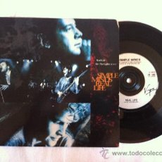 """Discos de vinilo: 7"""" SIMPLE MINDS-REAL LIFE-SEE THE LIGHTS(LIVE). Lote 33183654"""