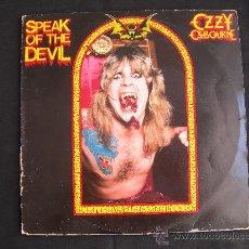 Discos de vinilo: DOBLE LP OZZY OSBOURNE // SPEAK OF THE DEVIL // DOBLE PORTADA. Lote 209921590