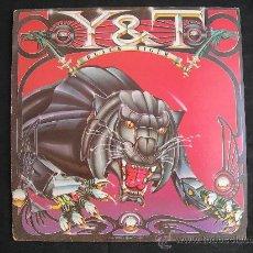 Discos de vinilo: LP Y & T // BLACK TIGER. Lote 33205486