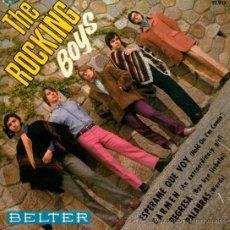 """Discos de vinilo: THE ROCKING BOYS - EP 7"""" - EDITADO EN ESPAÑA - PALABRAS (BEE GEES COVER) + 3 - BELTER 1968.. Lote 33205820"""