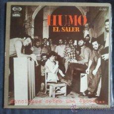 Discos de vinilo: HUMO EL SALER MOVIEPLAY SERIE GONG 1977 PROGRESIVO LP. Lote 33208201