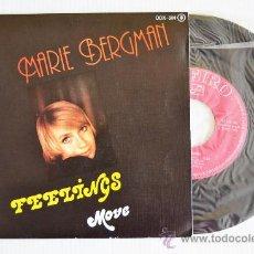 Discos de vinilo: MARIE BERGMAN FEELINGS (ZAFIRO SINGLE 1976). Lote 33214626