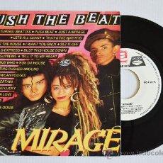 Discos de vinilo: MIRAGE PUSH THE BEAT (ZAFIRO SINGLE 1988) ESPAÑA. Lote 33214697