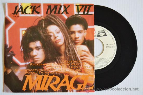 MIRAGE JACK MIX VII (ZAFIRO SINGLE 1988) ESPAÑA (Música - Discos de Vinilo - Singles - Pop - Rock Internacional de los 80)