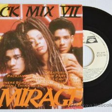 Discos de vinilo: MIRAGE JACK MIX VII (ZAFIRO SINGLE 1988) ESPAÑA. Lote 33214721
