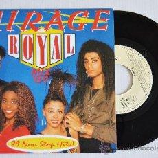 Discos de vinilo: MIRAGE ROYAL MIX'89 (ZAFIRO SINGLE 1989) ESPAÑA. Lote 33214747