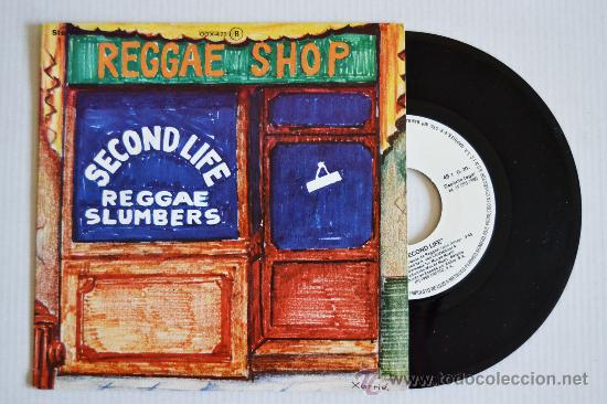 SECOND LIFE REGGAE SHOP (ZAFIRO SINGLE 1980) ESPAÑA (Música - Discos de Vinilo - Singles - Pop - Rock Internacional de los 80)