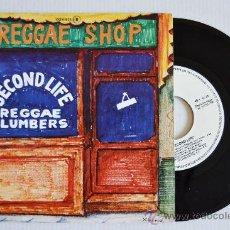 Discos de vinilo: SECOND LIFE REGGAE SHOP (ZAFIRO SINGLE 1980) ESPAÑA. Lote 33217467