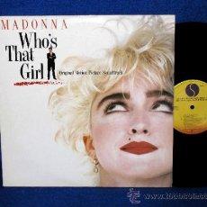 Discos de vinilo: MADONNA - WHO'S THAT GIRL - LP 1987 SIRE RECORDS. Lote 106374710
