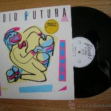 Discos de vinilo: RADIO FUTURA - DANCE USTED - LP MAXI 1983 - CARPETA EX VINILO EX COMO NUEVO. Lote 33220372