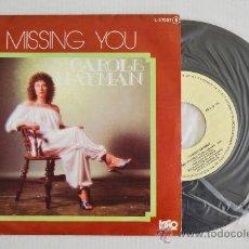 Discos de vinilo: CAROLE HAYMAN MISSING YOU (CFE SINGLE 1978) ESPAÑA. Lote 33220847