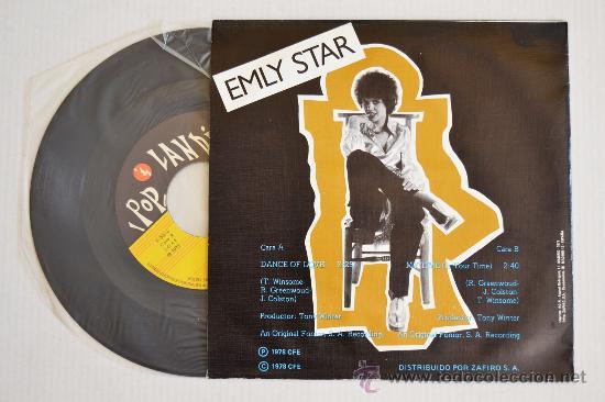 Discos de vinilo: EMLY STAR Dance Of Love (POPLANDIA Single 1978) ESPAÑA - Foto 2 - 33221578