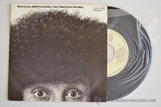 MICK FARREN HALF PRICE DRINKS (LOGO SINGLE 1979) ESPAÑA (Música - Discos - Singles Vinilo - Pop - Rock - Internacional de los 70)