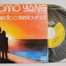 Discos de vinilo: MOMO YANG CUANDO CALIENTA EL SOL (POPLANDIA SINGLE 1975) ESPAÑA. Lote 33222086