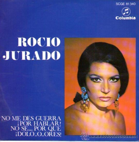 ROCÍO JURADO - 1968 - (CON PACO DE LUCÍA A LA GUITARRA) (Música - Discos de Vinilo - EPs - Flamenco, Canción española y Cuplé)