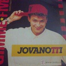 Discos de vinilo: JOVANOTTI, GIMME FIVE - MAXI SINGLE. Lote 33229802