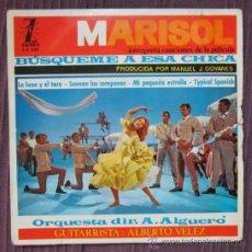 Discos de vinilo: MARISOL - BÚSQUEME A ESA CHICA - AUGUSTO ALGUERÓ - 1964. Lote 33230407