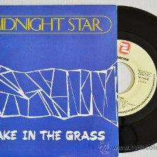Discos de vinilo: MIDNIGHT STAR - SNAKE IN THE GRASS (SOLAR SINGLE 1989) ESPAÑA. Lote 33236857