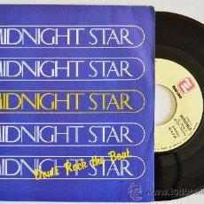 Discos de vinilo: MIDNIGHT STAR - DON'T ROCK THE BOAT (ZAFIRO SINGLE 1988) ESPAÑA. Lote 33236882