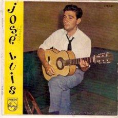 Discos de vinilo: EP JOSE LUIS -BLANCA ESTRELLA- LA PLENA DE SAN ANTON- AL PARAGUAY- LA ULTIMA COPA. Lote 33247381