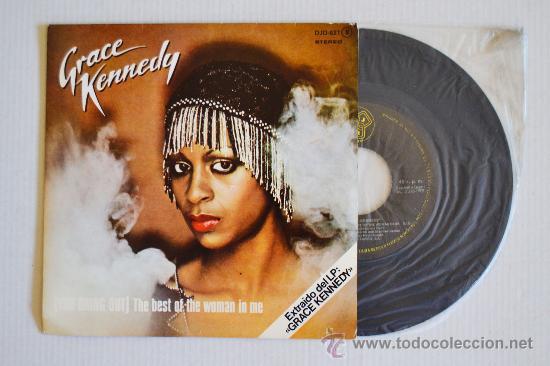 GRACE KENNEDY - (YOU BRING OUT) THE BEST OF THE WOMAN IN ME (DJM SINGLE 1979) ESPAÑA (Música - Discos - Singles Vinilo - Pop - Rock - Internacional de los 70)