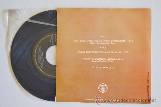 Discos de vinilo: GRACE KENNEDY - (You Bring Out) The Best Of The Woman In Me (DJM Single 1979) ESPAÑA - Foto 2 - 33249533