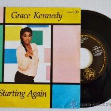 Discos de vinilo: GRACE KENNEDY - I'M STARTING AGAIN (DJM SINGLE 1981) ESPAÑA. Lote 33249547