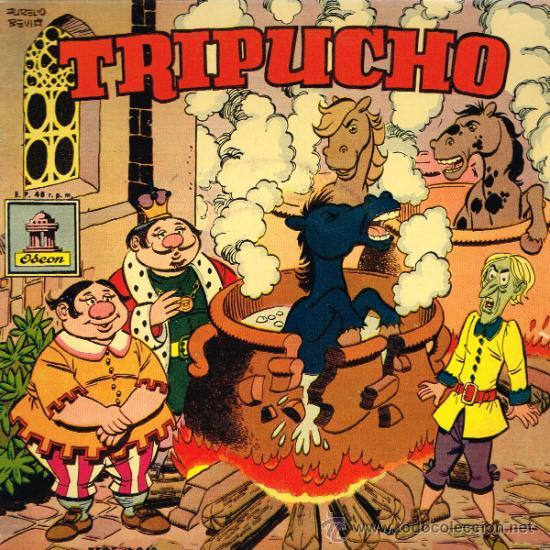 TRIPUCHO. CUENTO INFANTIL - EP 1958 - (Música - Discos de Vinilo - EPs - Música Infantil)
