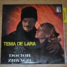 Discos de vinilo: TEMA DE LARA.BSO DEL FILM DOCTOR ZHIVAGO.(MGM 1964). Lote 33253109