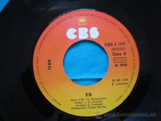 Discos de vinilo: Singels Ivan 1981 - Foto 2 - 33262989