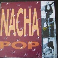 Discos de vinilo: NACHA POP : ENGANCHADO A UNA SEÑAL DE BUS + 10 - LP DRO 1989 . Lote 33265482