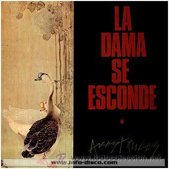 LA DAMA SE ESCONDE - AVESTRUCES - 1985 - 33 RPM - EXCELENTE CONSERVACIÓN (Música - Discos de Vinilo - EPs - Grupos Españoles de los 70 y 80)