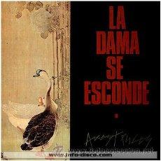 Discos de vinilo: LA DAMA SE ESCONDE - AVESTRUCES - 1985 - 33 RPM - EXCELENTE CONSERVACIÓN. Lote 33265733