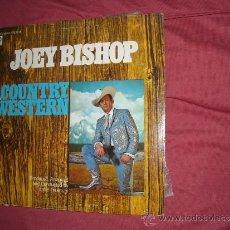 Discos de vinilo: JOEY BISHOP LP SINGS COUNTRY WESTERN 1968 ABCS 656 USA VER FOTO ADICIONAL ORIGINAL USA. Lote 33273638